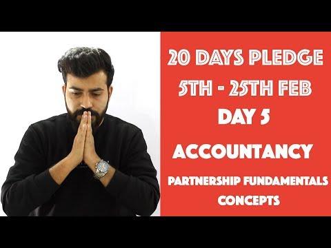 Day- 4 - Partnership - Fundamentals - Concepts - Accountancy - class 12th#20dayspledge
