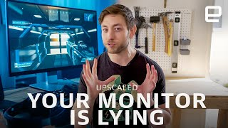 Monitor specs are nonsense | Upscaled