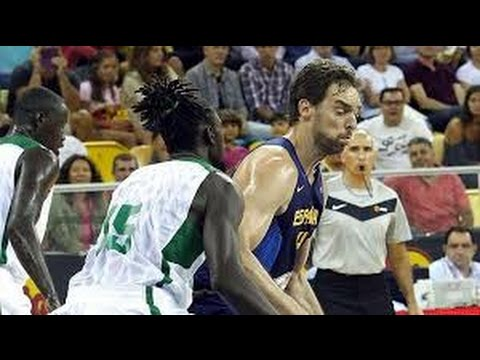 FIBA 2014 World Cup Spain-Senegal
