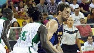 FIBA 2014 World Cup Spain-Senegal