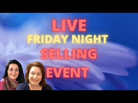 LOVE LIVE FRIDAY NIGHTS SELLING EVENTS AUCTIONS4U DONATELLA