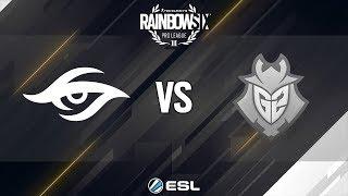 Rainbow Six Pro League - Season 9 - EU - Team Secret vs. G2 Esports - Week 1