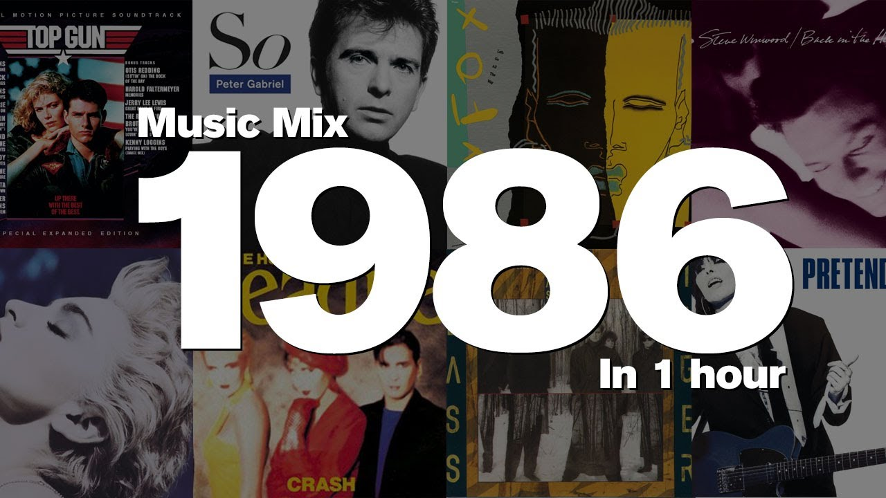 Download 1986 Megamix. 1 Hour of Top Hits: Berlin, Peter Gabriel, Steve Winwood, Madonna, and many more!