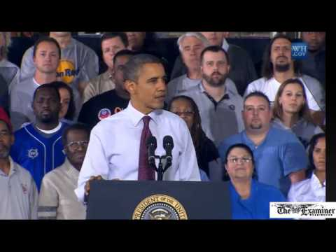 In Michigan, Obama trashes Right-to-work laws