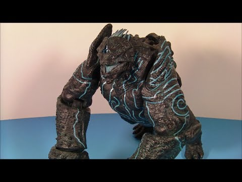 Thumbnail: NECA PACIFIC RIM LEATHERBACK SERIES 2 MOVIE ACTION FIGURE TOY REVIEW