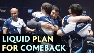 LIQUID always have PLAN for COMEBACK — even on Battle Cup