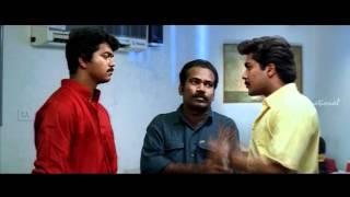 Naerukku Naer | Tamil Movie | Scenes | Clips | Comedy | Songs | Vijay-Surya tussle at eatery