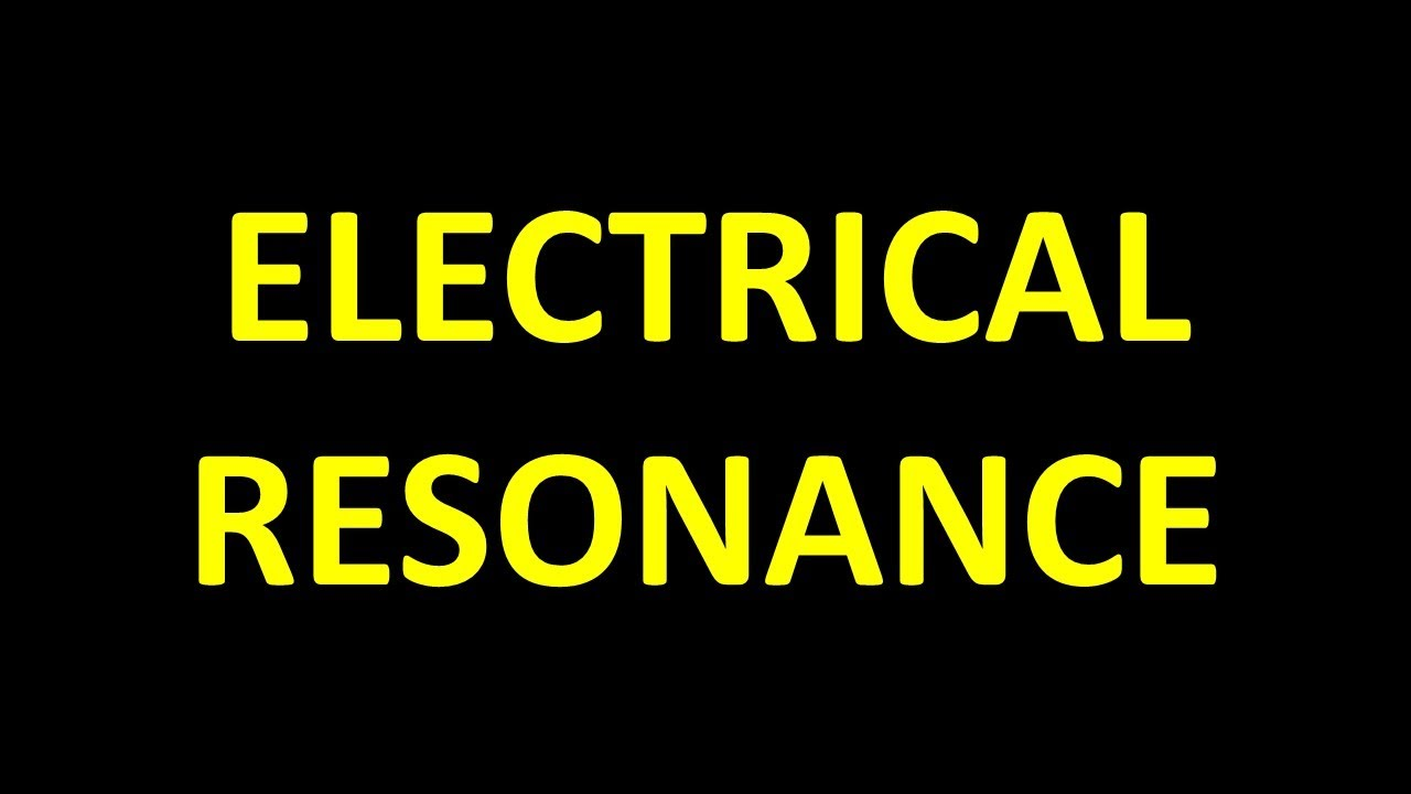 Resonance Part 24 Current Magnification In A Parallel Impedance Circuit Two Problems