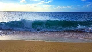 Ocean Waves Relaxation 10 Hours | Soothing Waves Crashing on Beach | White Noise for Sleep thumbnail