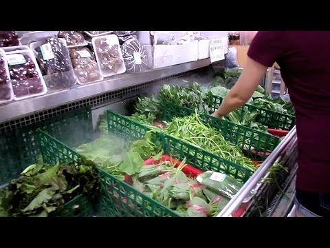 KOREAN MARKET FRUITS AND VEGETABLES