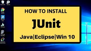 Gambar cover Download and Install Junit on Java and Eclipse | Step by Step | Project based