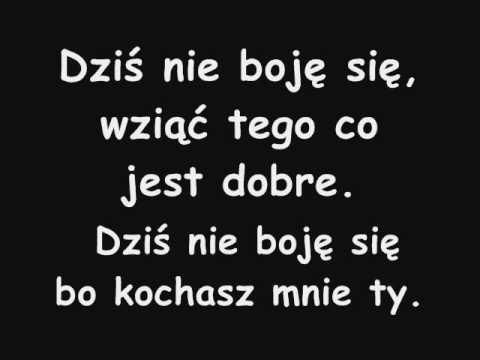 Agnieszka Chylińska - Nie mogę cię zapomnieć [ nie karaoke] słowa tekst napisy