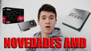 AMD saca nuevas graficas rx 5600 y threadripper 3990x - CES 2020