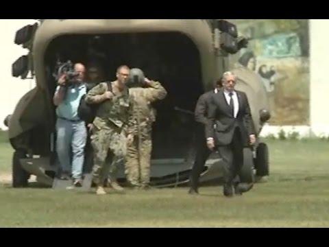 Mattis Makes Surprise Visit To Afghanistan