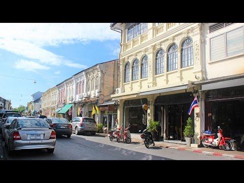 Thalang Road Old Phuket Town