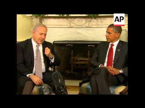 President Barack Obama and Israeli Prime Minister Benjamin Netanyahu sought to warm rocky relations,