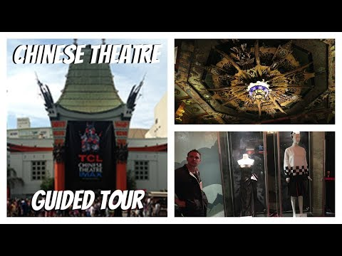 Chinese Theatre Guided Tour | Los Angeles | Hollywood