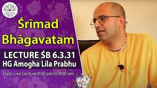 srimad bhagavatam 6 3 31 by hg amogh lila prabhu on 31st july 2016