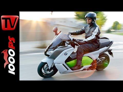 Test-Video | BMW C Evolution 2014 - Elektro Scooter im Test