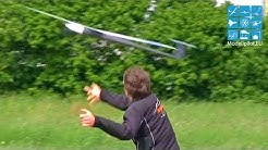 RAKETENWURM 4B STRATAIR F5B HOTLINER RC FULL CARBON GLIDER DANIEL MAYR MULTIPLEX AIRSHOW 2015