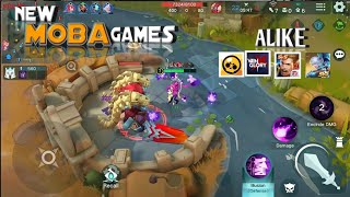 Top 6 New MOBA Games For Android 2019 | Best MOBA |
