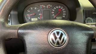 Сброс адаптации дроссельной заслонки VW Golf