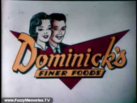 Dominick's Finer Foods with Elaine Mulqueen (Commercial #3, 1973)