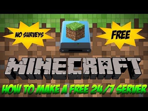 free minecraft server hosting website no survey