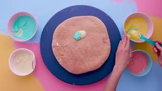 Unicorn party  How to make rainbow unicorn pizza   Eats + Treats