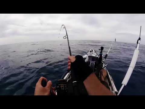 (Part 1) Offshore Kayak Fishing, 63lb/28.7kg Bluefin Tuna!