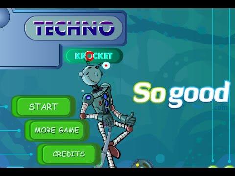 Techno Krocket Walkthrough
