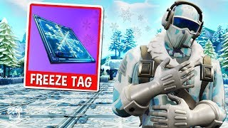 'NOUVEAU' FROSTBITE FREEZE TAG Custom Gamemode dans Fortnite Battle Royale!