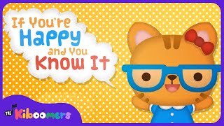 If You're Happy and You Know It | Nursery Rhymes | Songs for Children | The Kiboomers
