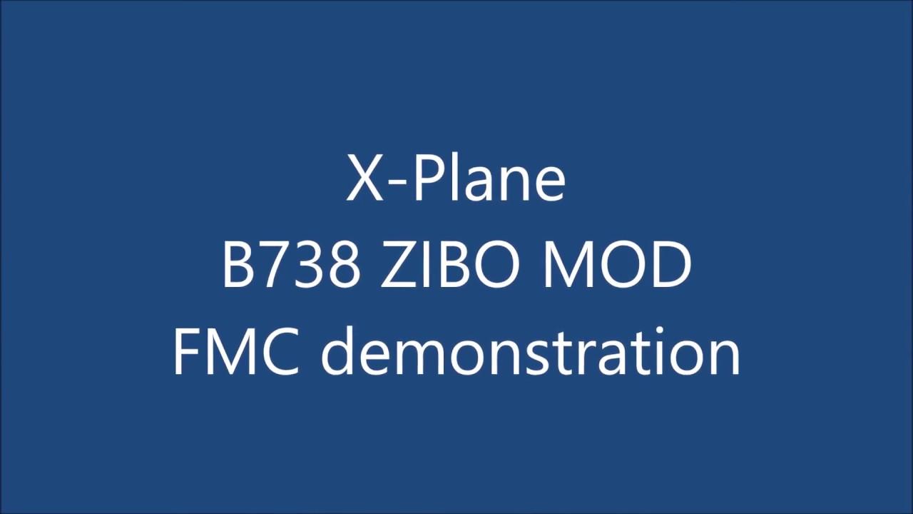 X-Plane - B738 - Zibo Mod - FMC programming