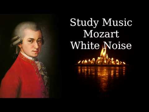 01 Study Music | Classical | Mozart | White Noise - YouTube