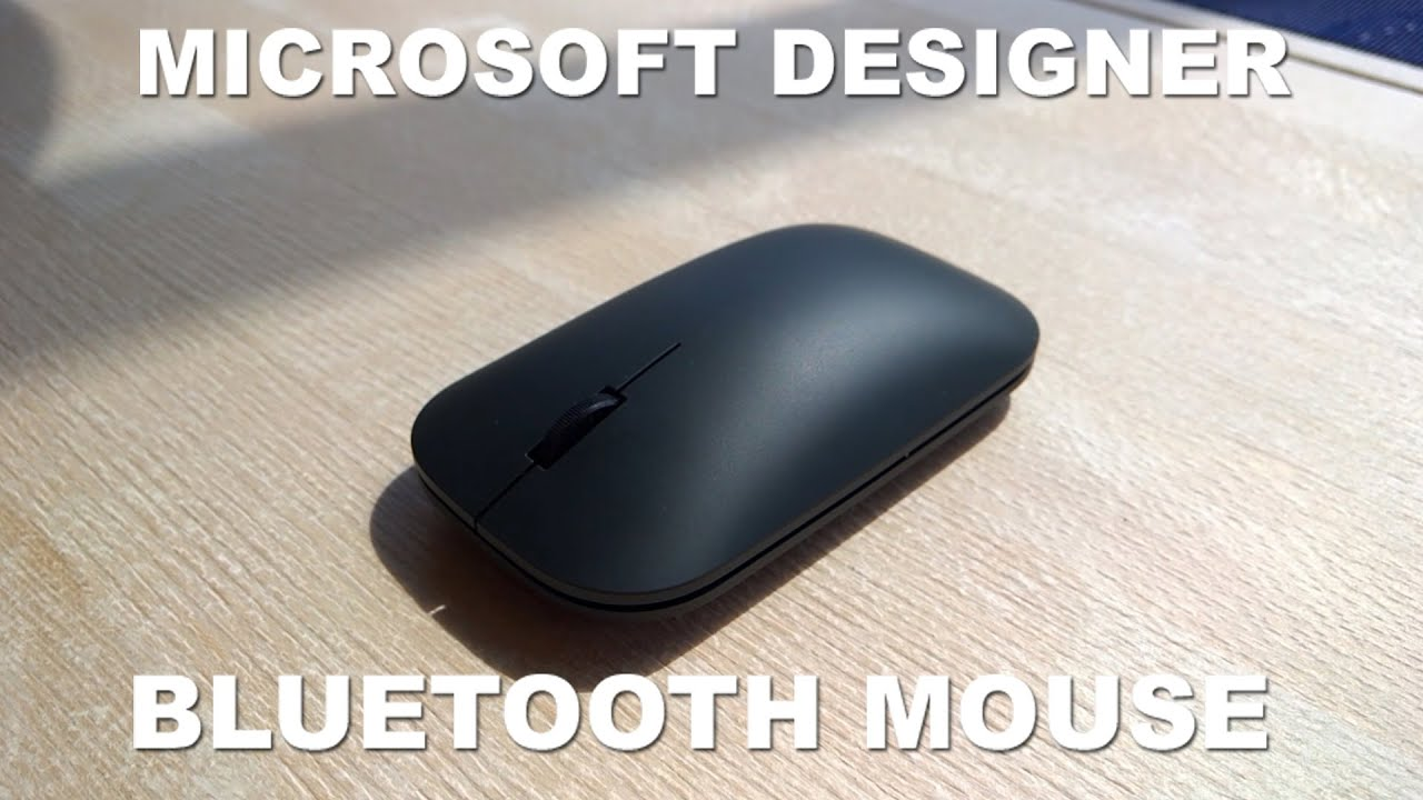 ad5f5453c71 Microsoft Designer Bluetooth Mouse Review - Surprisingly good! - YouTube