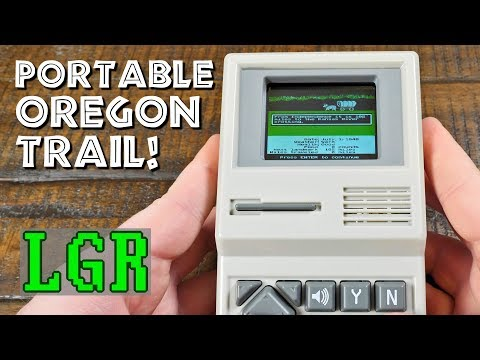 LGR - The Oregon Trail Electronic Handheld Game!