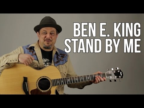 """Stand by Me"" Guitar Lesson - Ben E. King - Easy Beginner Acoustic Songs for Guitar"