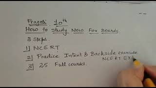 class 10 How to study effectively to score 100/100 in science