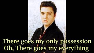 There Goes my Everything - Elvis Presley ( Cover with lyric )