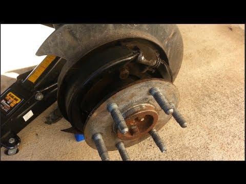 GM Parking Brake Pad Change  Adjustment  HOW TO  TUTORIAL  YouTube