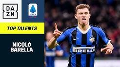 Nicolo Barella: Top Talents | Serie A | DAZN Highlights
