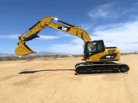 2008 Caterpillar 320D LRR Hydraulic Excavator