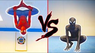SPIDERMAN vs BLACK SPIDERMAN in Real life | Flips & Kicks