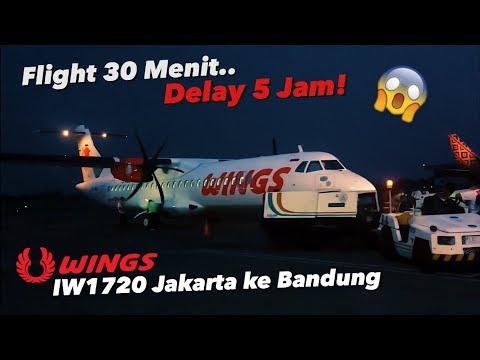 WINGS AIR ATR72-600 | Jakarta ke Bandung Naik Pesawat, Worth it Gak Sih..!? VLOG REVIEW