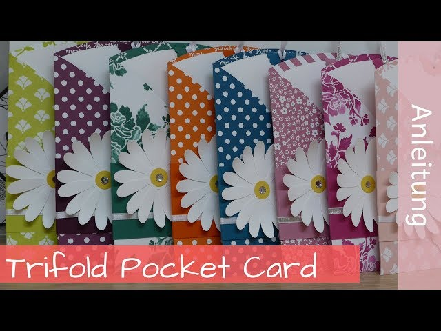 Trifold Pocket Card - Tutorial - Stampin' Up! Demonstratorin - YouTube