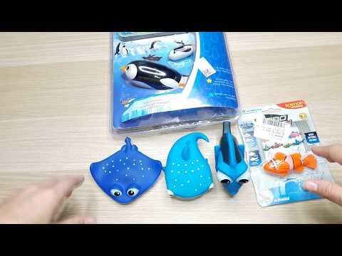Пингвинёнок МиМи . Robo Fish Робот рыбка.Рыбки из мультфильма NEMO.