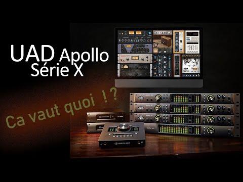 Universal Audio Apollo série X ! Ça vaut quoi ?
