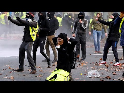 "Bruxelas: ""Coletes amarelos"" na capital política da Europa"