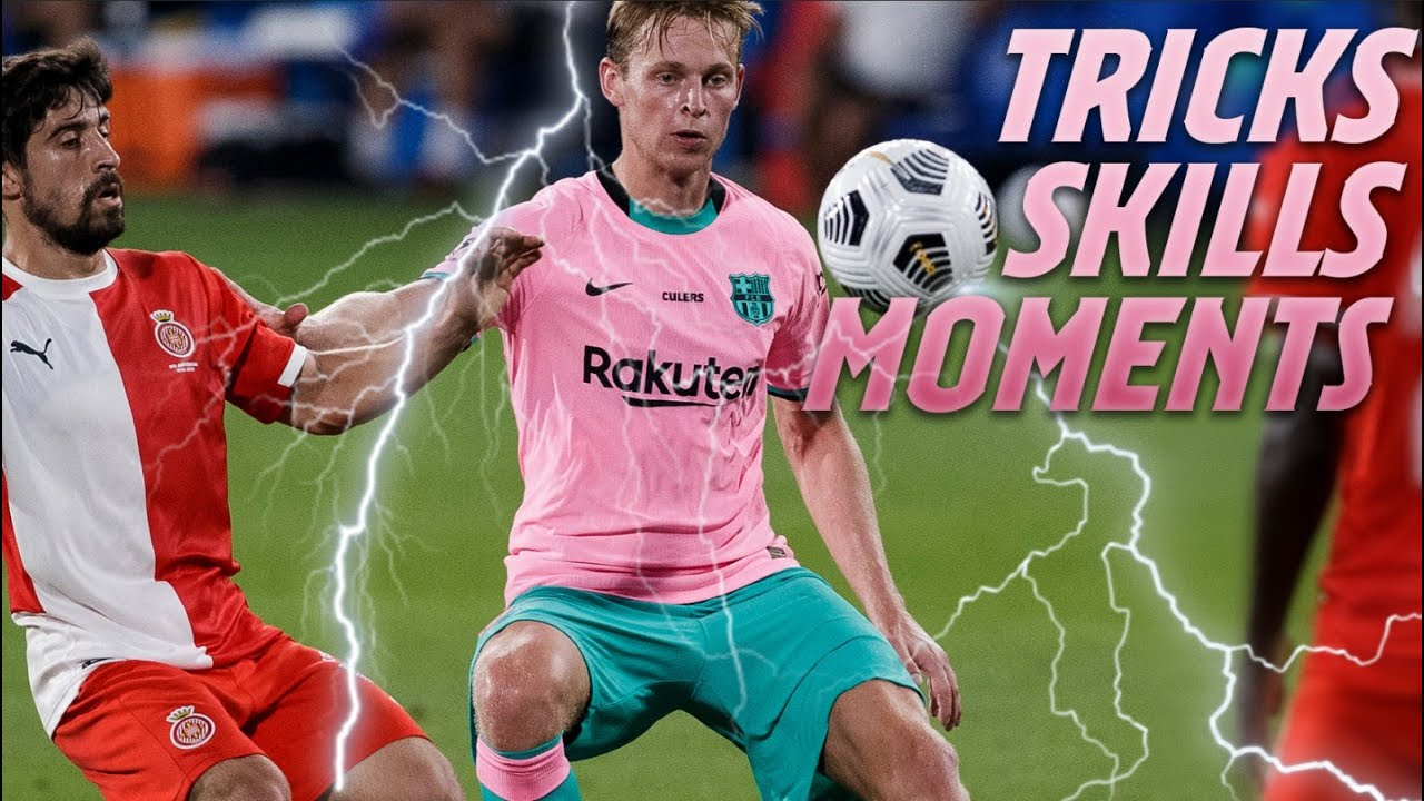 ⚡⚡ TOP SKILLS and ACTIONS from Barça-Girona